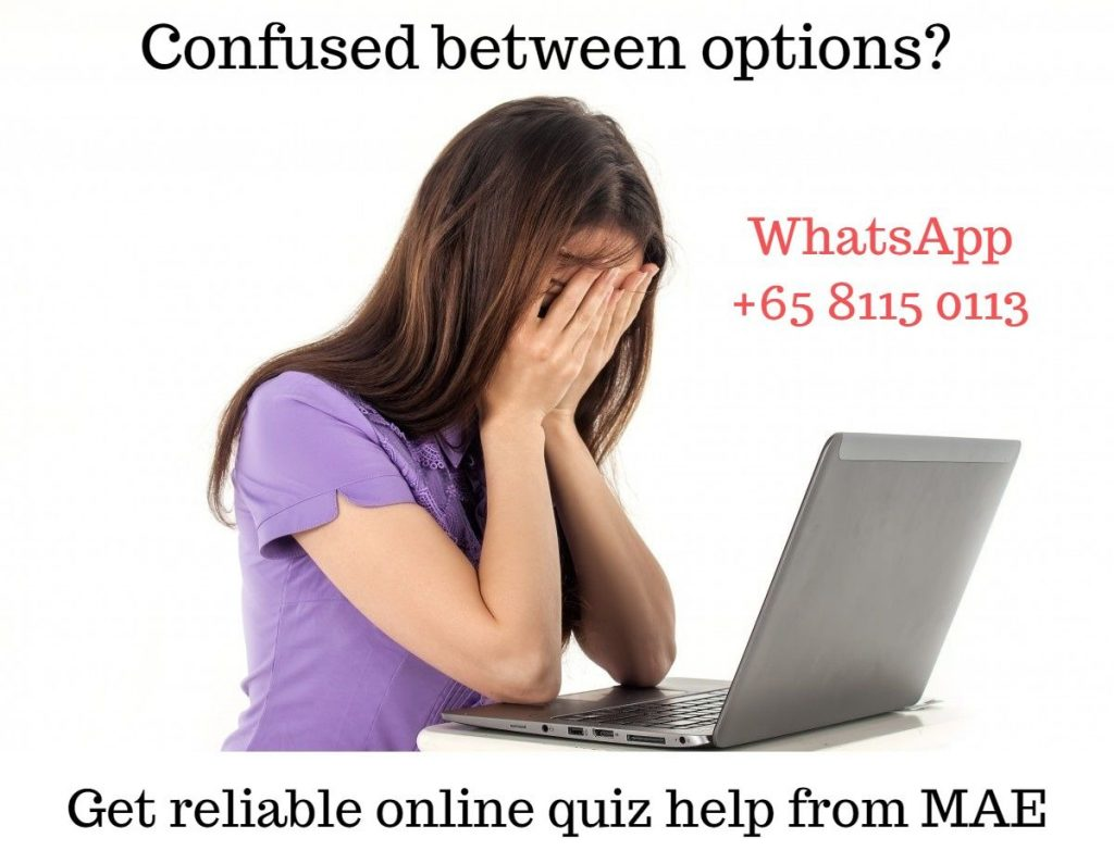 Reliable online quiz help from My Assignment Expert